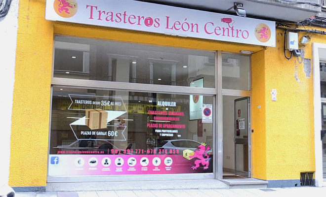 Trasteros León Centro cubre las necesidades de espacio de los leoneses